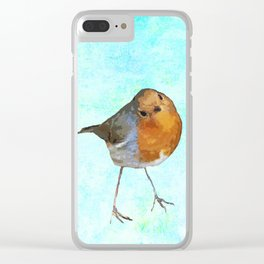 Robin -The visitor Clear iPhone Case