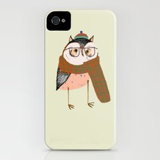 Owls Love Scarfs.  iPhone (4, 4s) Slim Case