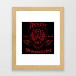 Fenrir Motorcycles Framed Art Print