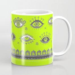 Eye Spy Fluorescent Coffee Mug
