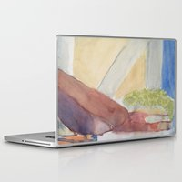 mortal instruments Laptop & iPad Skins featuring Still Life with Instruments by Alexandra Bonomo