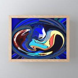 Attack of the whatsit Framed Mini Art Print