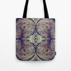 84-26-49 (Mandala Glitch) Tote Bag