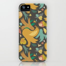 The powerful and yelow spring is coming iPhone Case