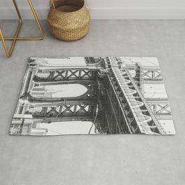Manhattan Bridge Empire State Rug
