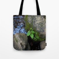 tennessee Tote Bags featuring Tennessee Creek by The Magic of Nature & The True You