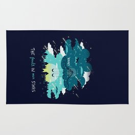 Stars and Constellations Rug