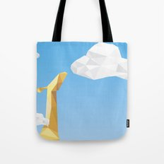 Into the cloud Tote Bag