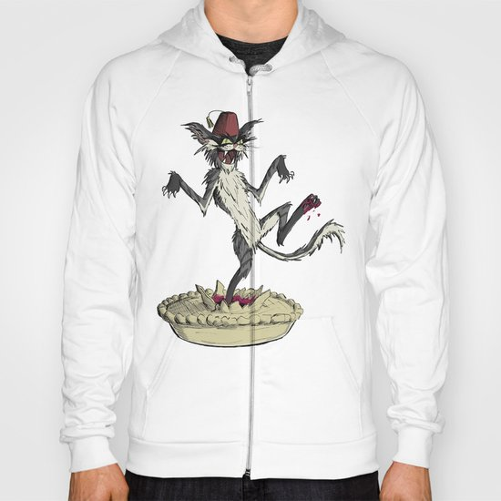 The cat that danced in a pie Hoody