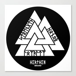 Valknut(Strength,Honor, Loyalty) Canvas Print