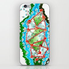 Blossom River  iPhone Skin