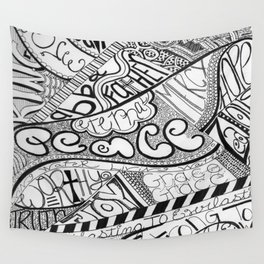 Call Out to God Wall Tapestry