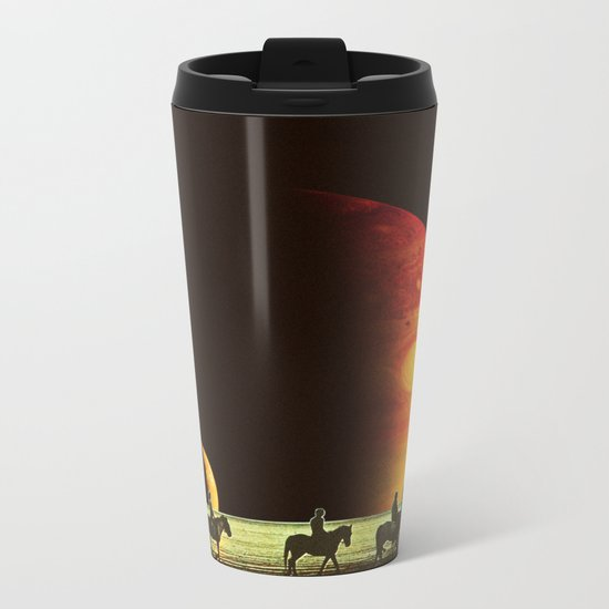Horse ride Metal Travel Mug