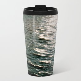 Waves No.3 Metal Travel Mug