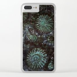 Ammonites and Trilobites Clear iPhone Case