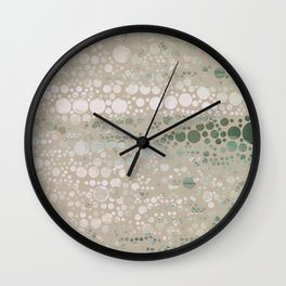 Sea Glass -- Abstract  Wall Clock