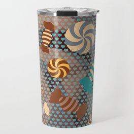 Chocolate Sugar Crush Travel Mug