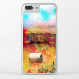 Sumer Clear iPhone Case