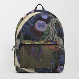 vintage art deco pattern Backpack