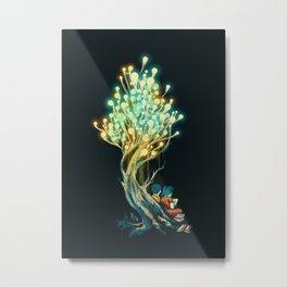 ElectriciTree Metal Print