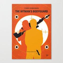 No926 My The Hitmans Bodyguard minimal movie poster Canvas Print