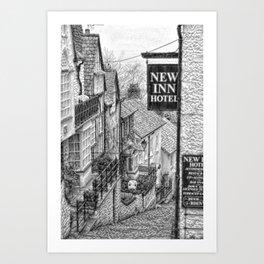 Clovelly North Devon 2 Art Print
