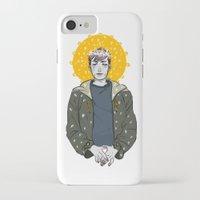 kieren walker iPhone & iPod Cases featuring Kieren Walker by timeflashh