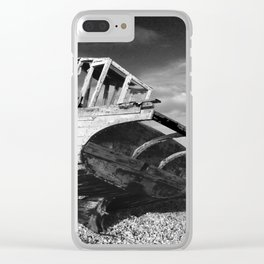 abandoned fishing boat Clear iPhone Case