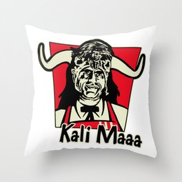 Kali Maaa Throw Pillow