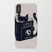 book iPhone & iPod Cases featuring World Domination For Cats by Tobe Fonseca