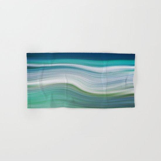 OCEAN ABSTRACT Hand & Bath Towel