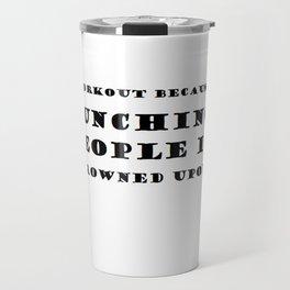 PUNCHING PEOPLE Travel Mug