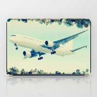 plain iPad Cases featuring Plain / Plane by Amiee Groundwater