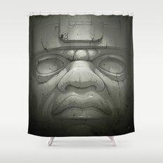Olmeca I. Shower Curtain