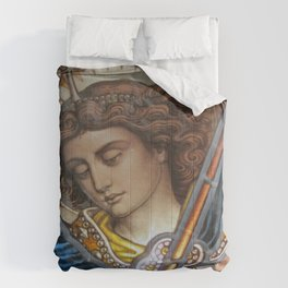 Angel in Glass Comforters