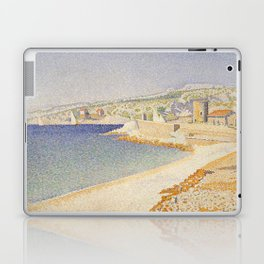 The Jetty at Cassis, Opus 198 Laptop & iPad Skin
