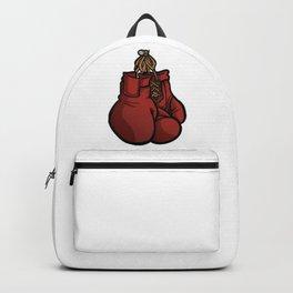 Boxing Gloves Illustration Backpack