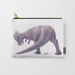 Purple Pachycephalosaurus Carry-All Pouch