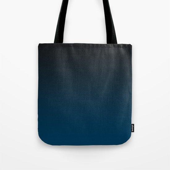 Cerulean Ombre Tote Bag