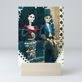 Wedding skeletons Mini Art Print