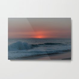 Uncanny sunset in Southern California Metal Print