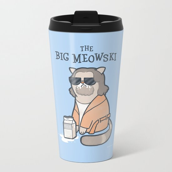 The Big Mewoski Metal Travel Mug