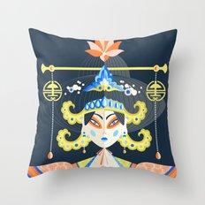 Wu Zetian Throw Pillow