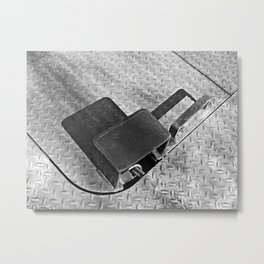 Lockbox Shadow  Metal Print