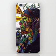 Psychoactive Bear 8 iPhone & iPod Skin