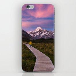 Pink Skies iPhone Skin