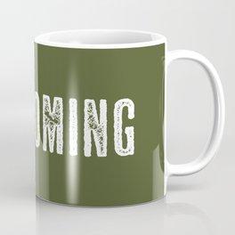 Deer: Wyoming Coffee Mug