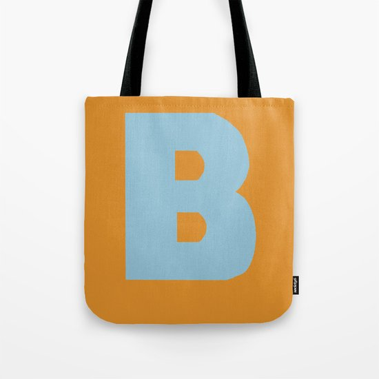 Blue B Tote Bag
