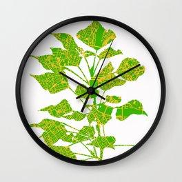 Populus tree in London Wall Clock
