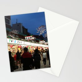 Tokyo Street Stationery Cards